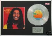 "BOB MARLEY - WAITING IN VAIN - 7"" Platinum Disc+cover"